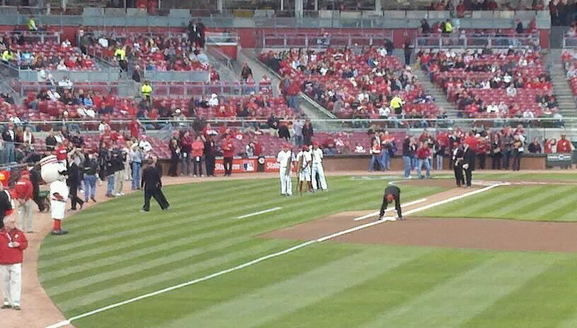 Great American Ball Park Section 140 Row D Seat 5