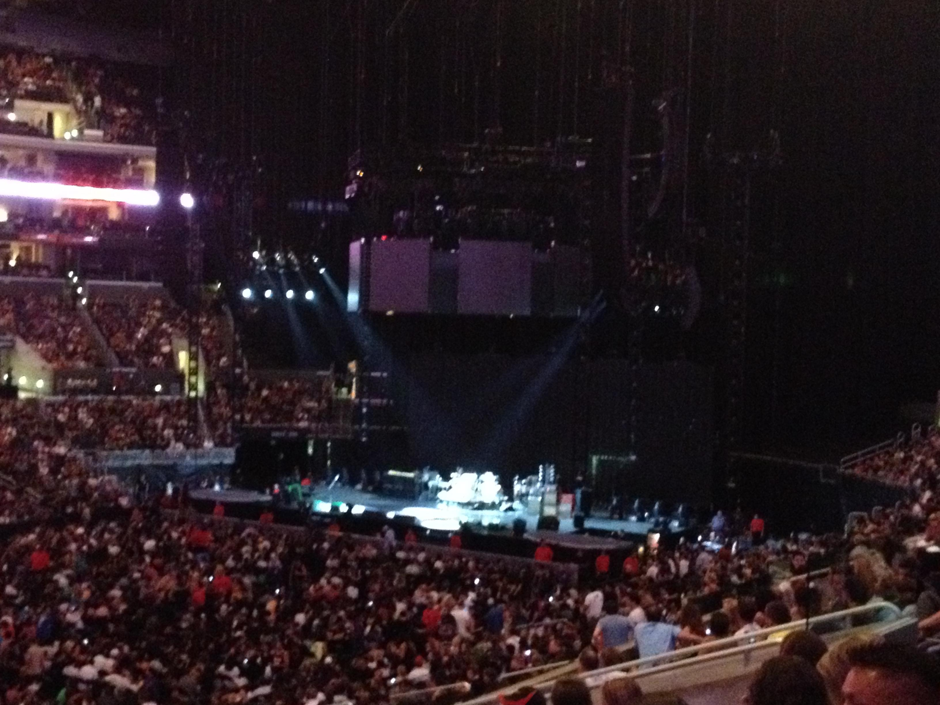 Staples Center Section Pr7 Row 10 Seat 14 Red Hot Chili