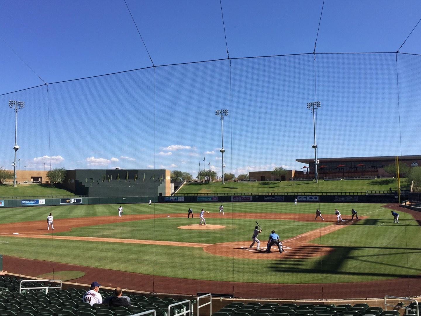 Salt River Fields Section 213 Row 2 Seat 12