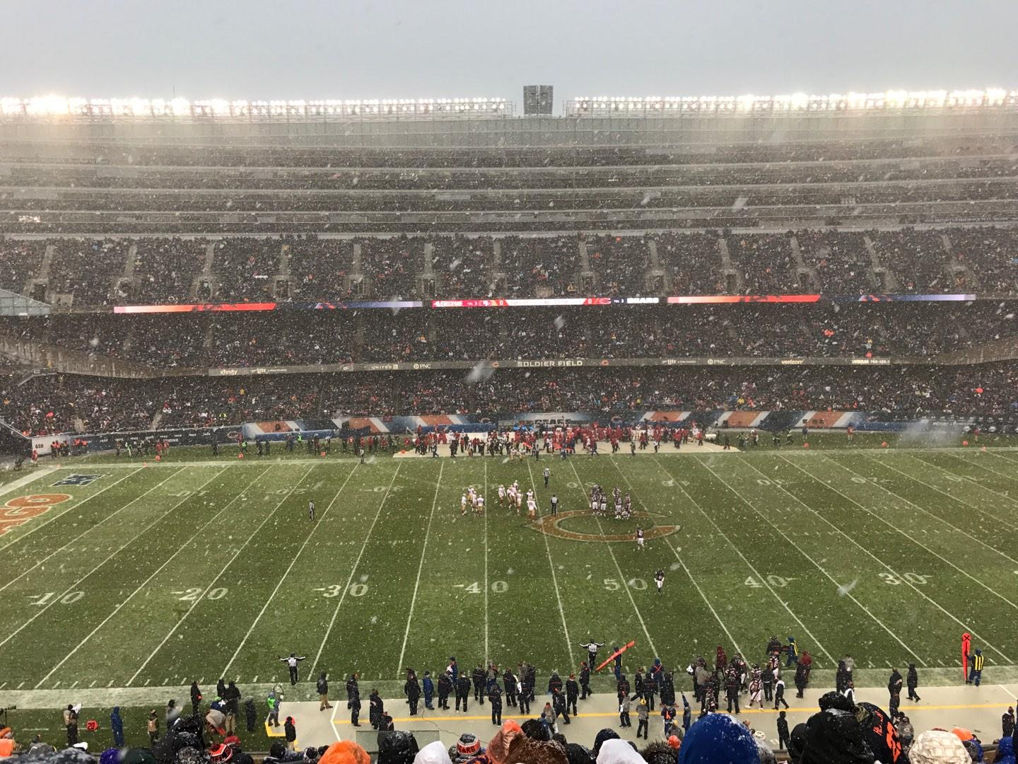 Soldier Field Section 338 Row 14 Seat 4
