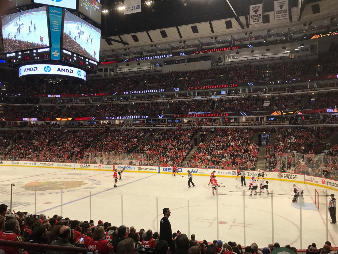 United Center Section 120 Row 15 Seat 12