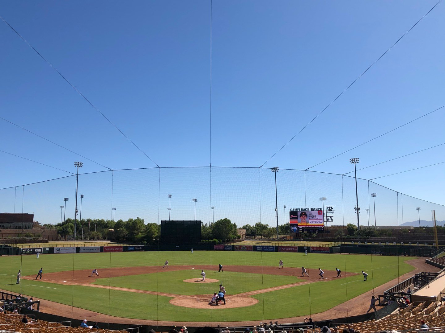 Camelback Ranch Section 115 Row 21 Seat 19