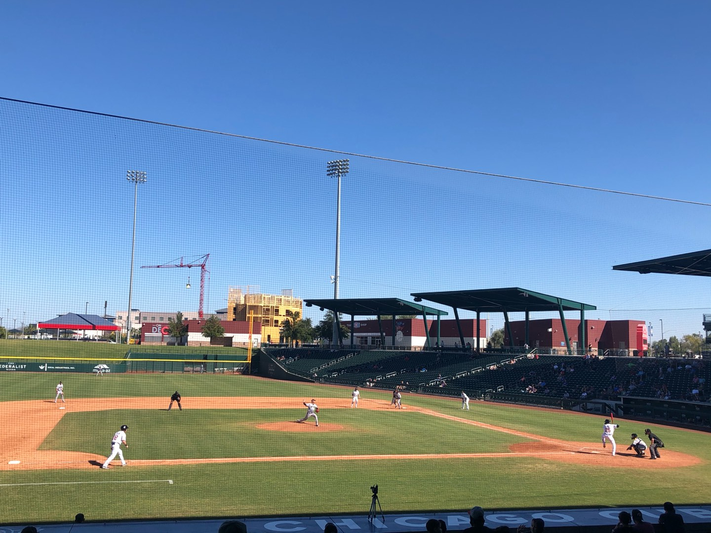 Sloan Park Section 107 Row 21 Seat 22