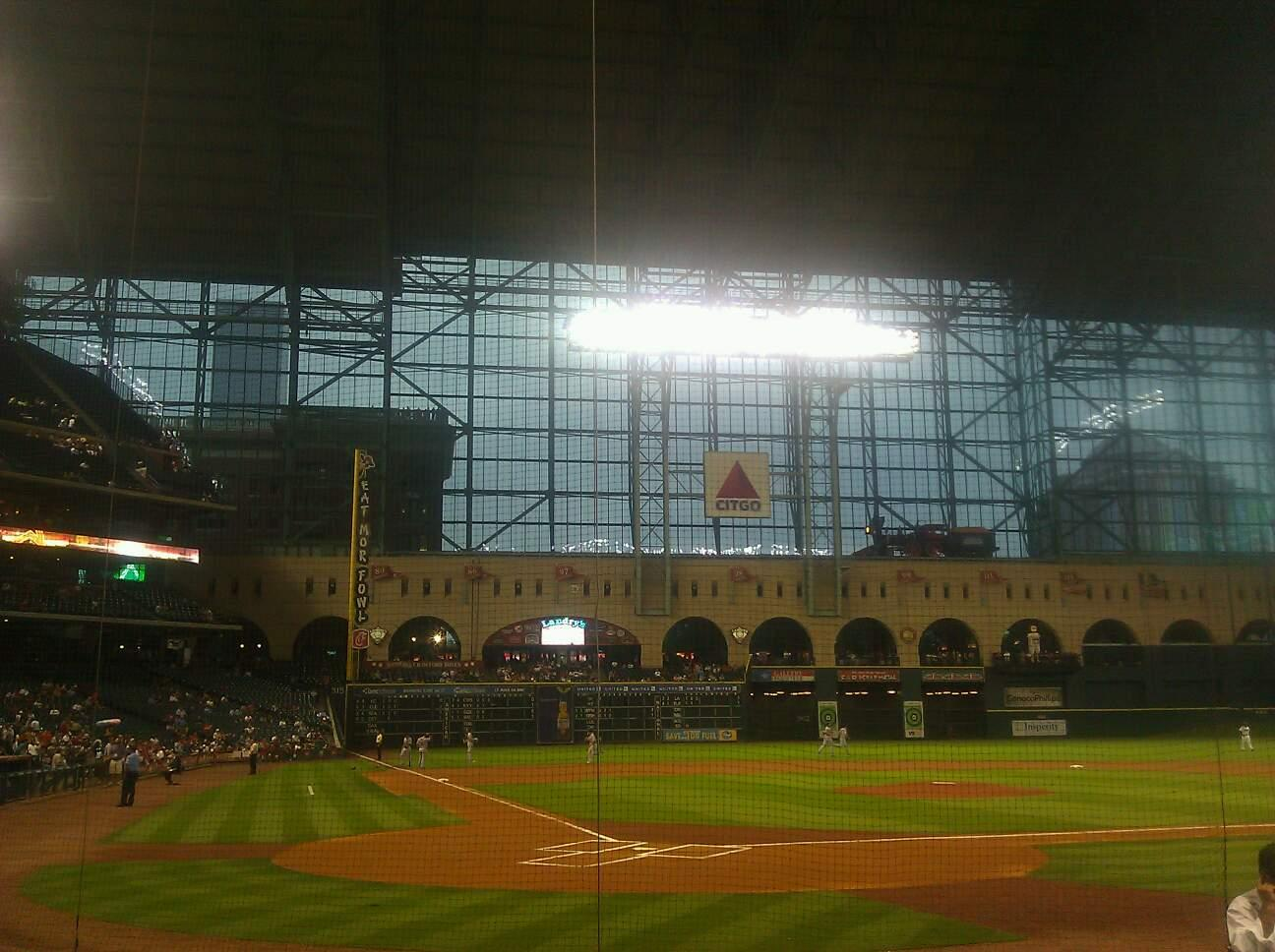 Minute Maid Park Section E Row 8 Seat 5