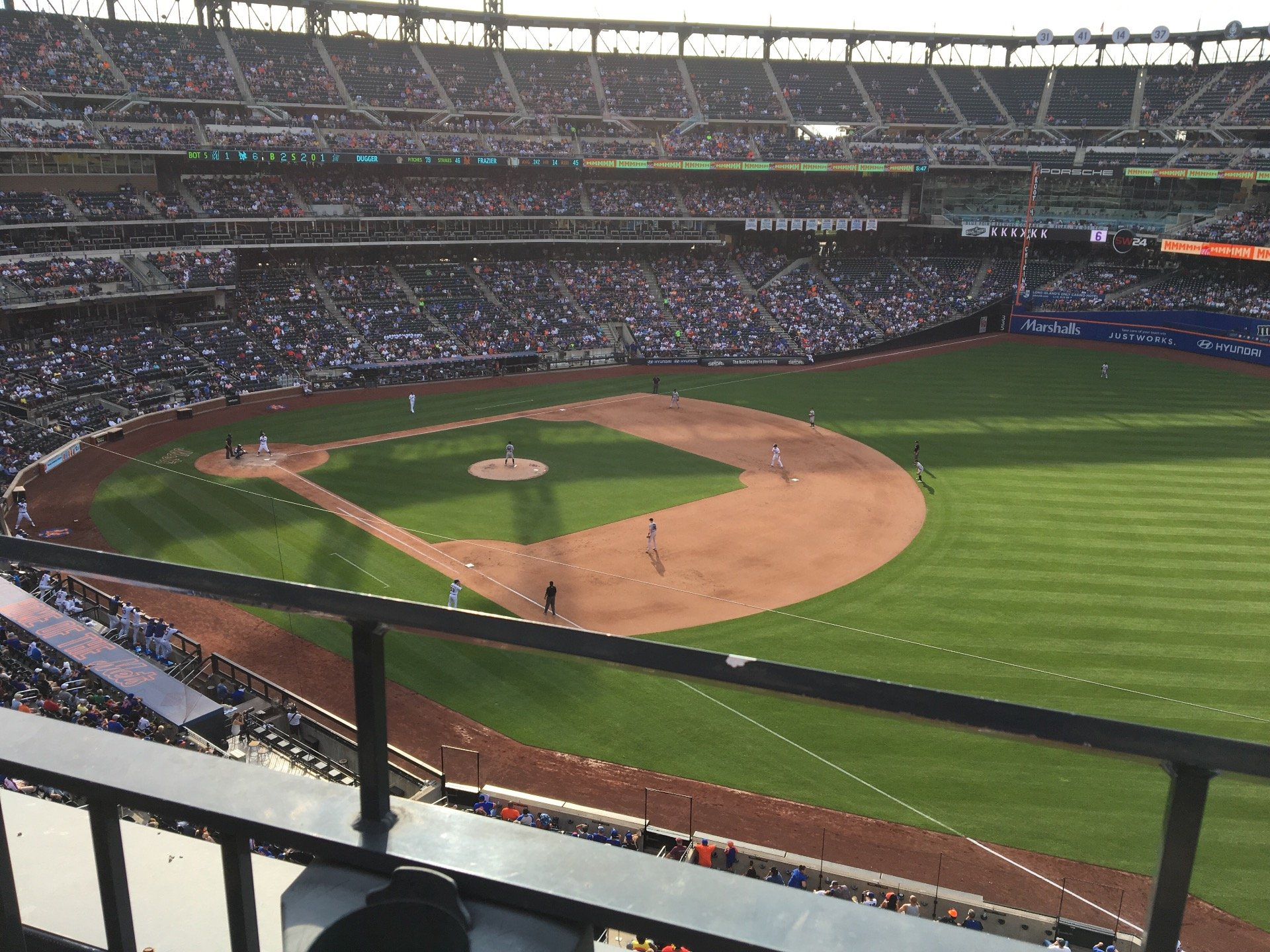 Citi Field Section 403 Row 1 Seat 13
