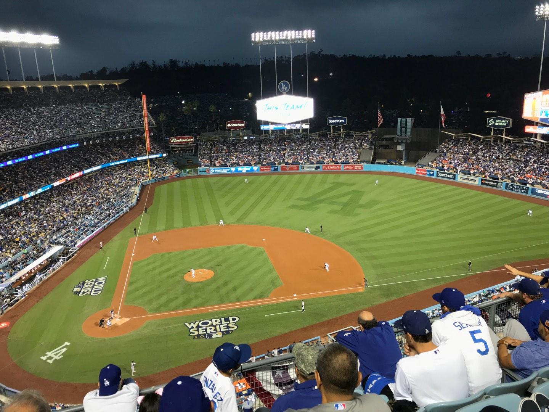 Dodger Stadium Section 12TD Row E Seat 5