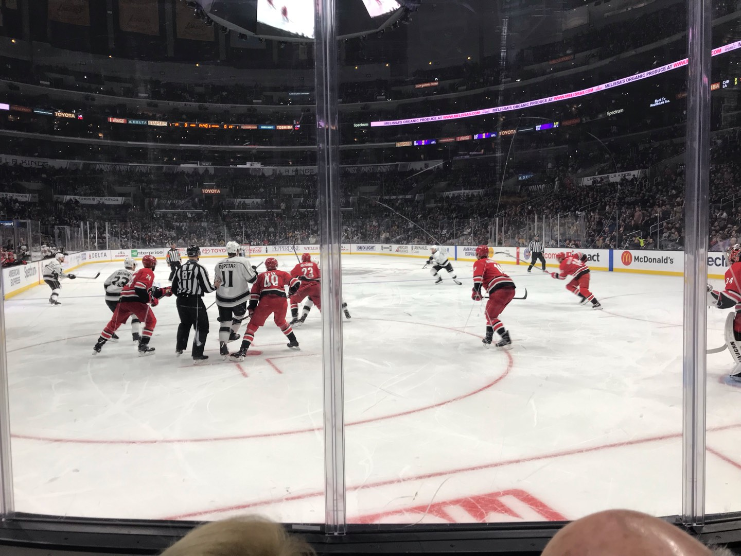 Staples Center Section 116 Row 4 Seat 14