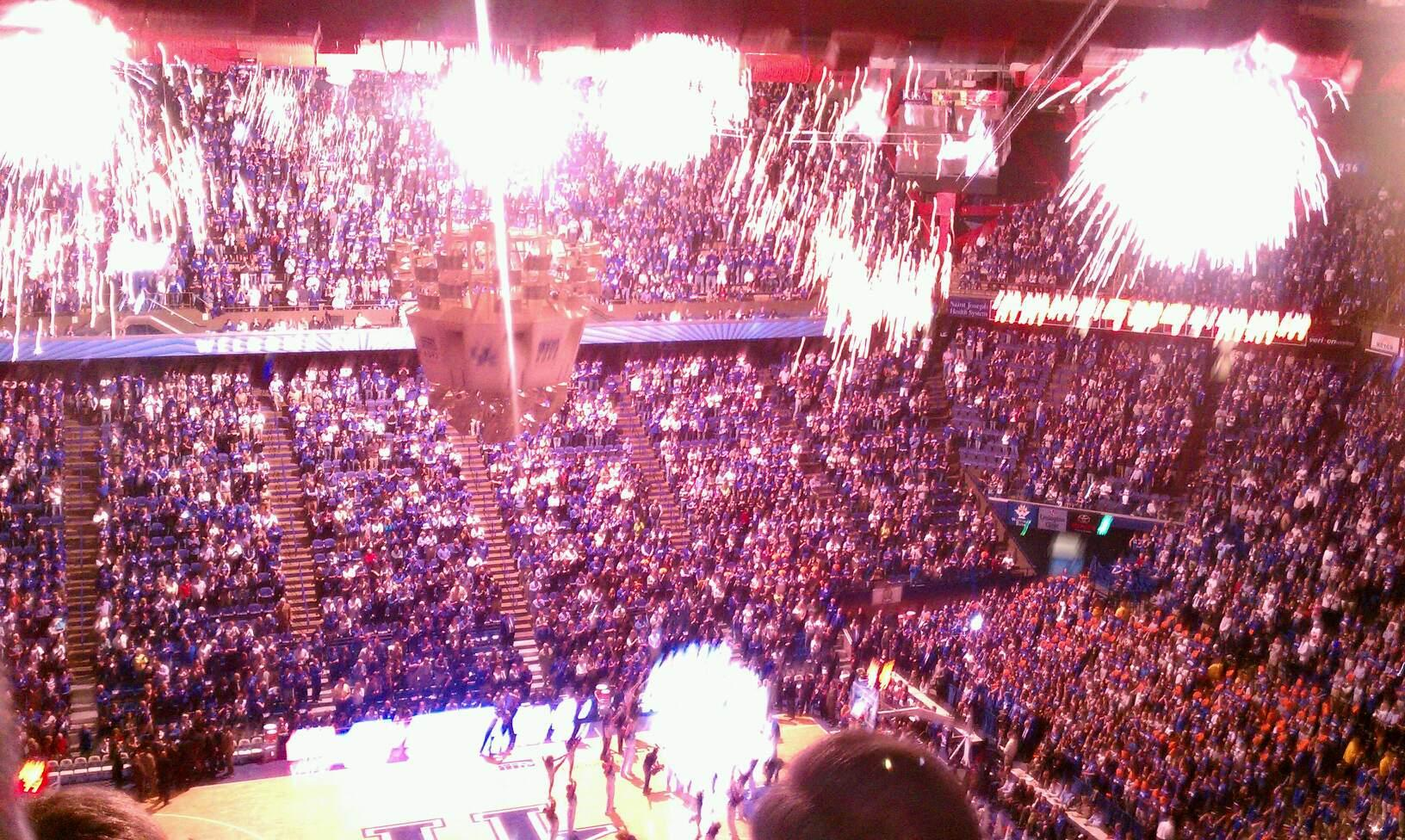 Rupp Arena Section 215
