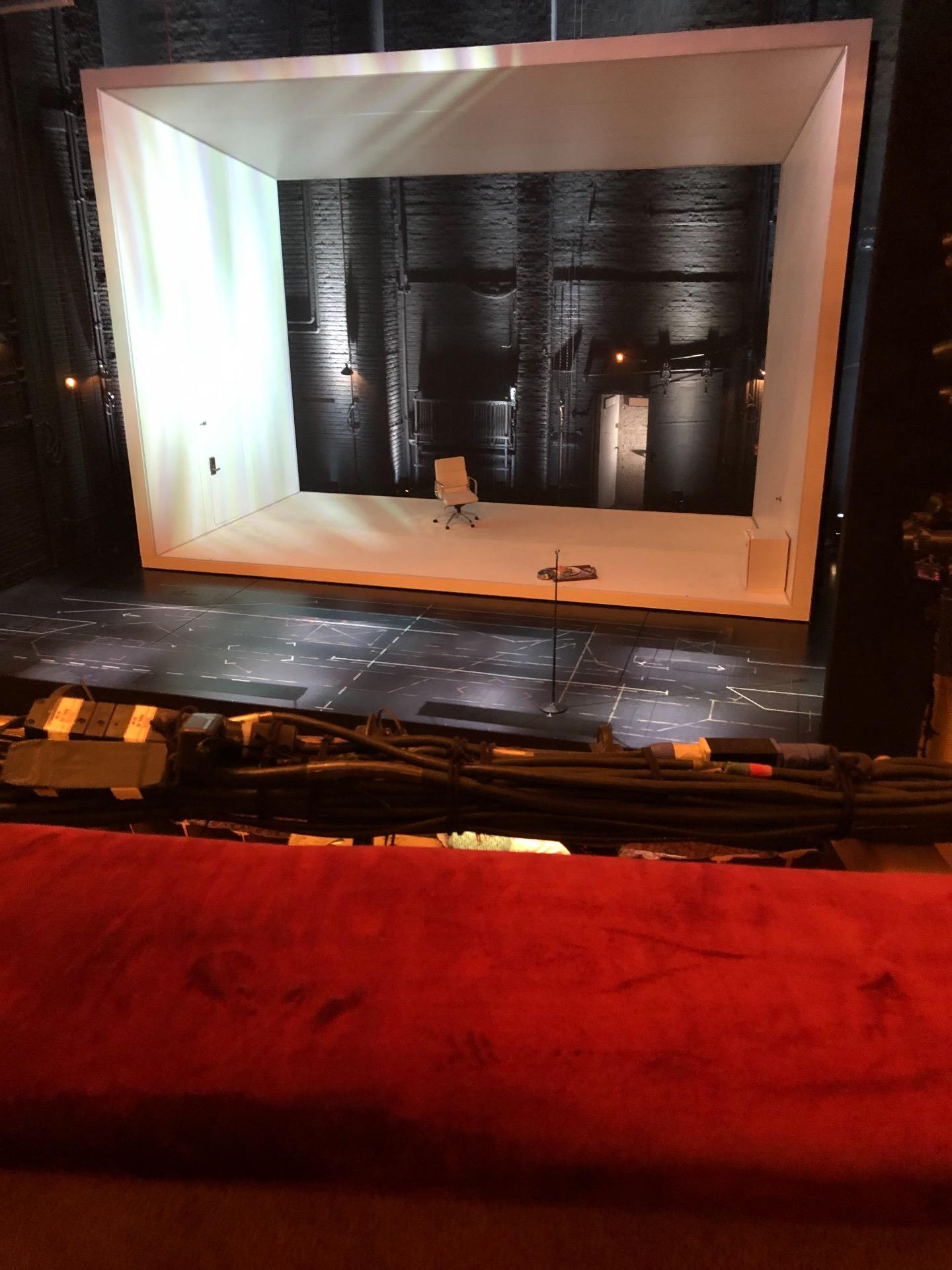 John Golden Theatre Section Front Mezzanine R Row A Seat 116