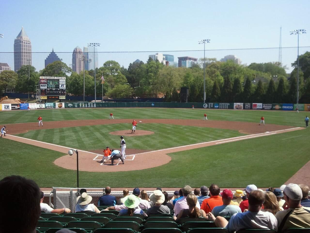 Russ Chandler Stadium Section 3 Seat 10