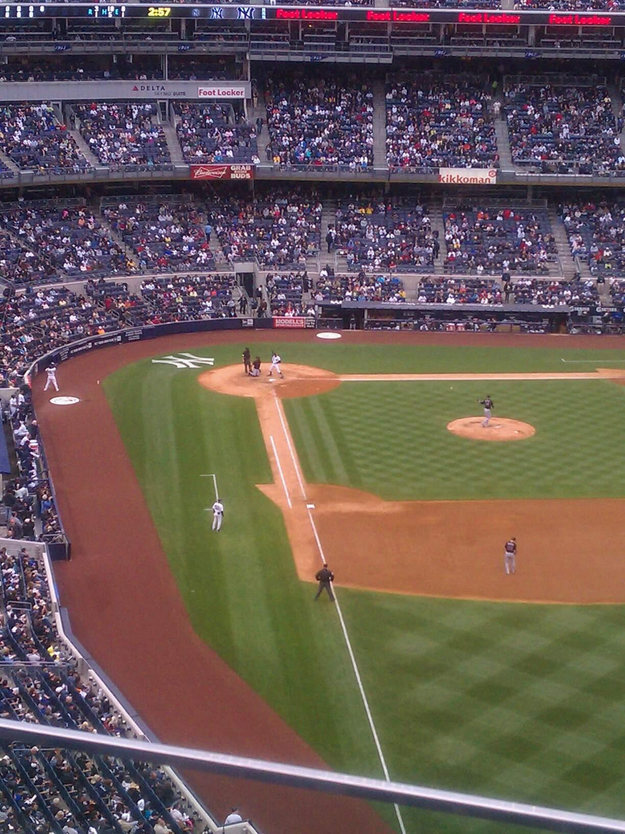 Yankee Stadium Section 407b Row 3 Seat 5