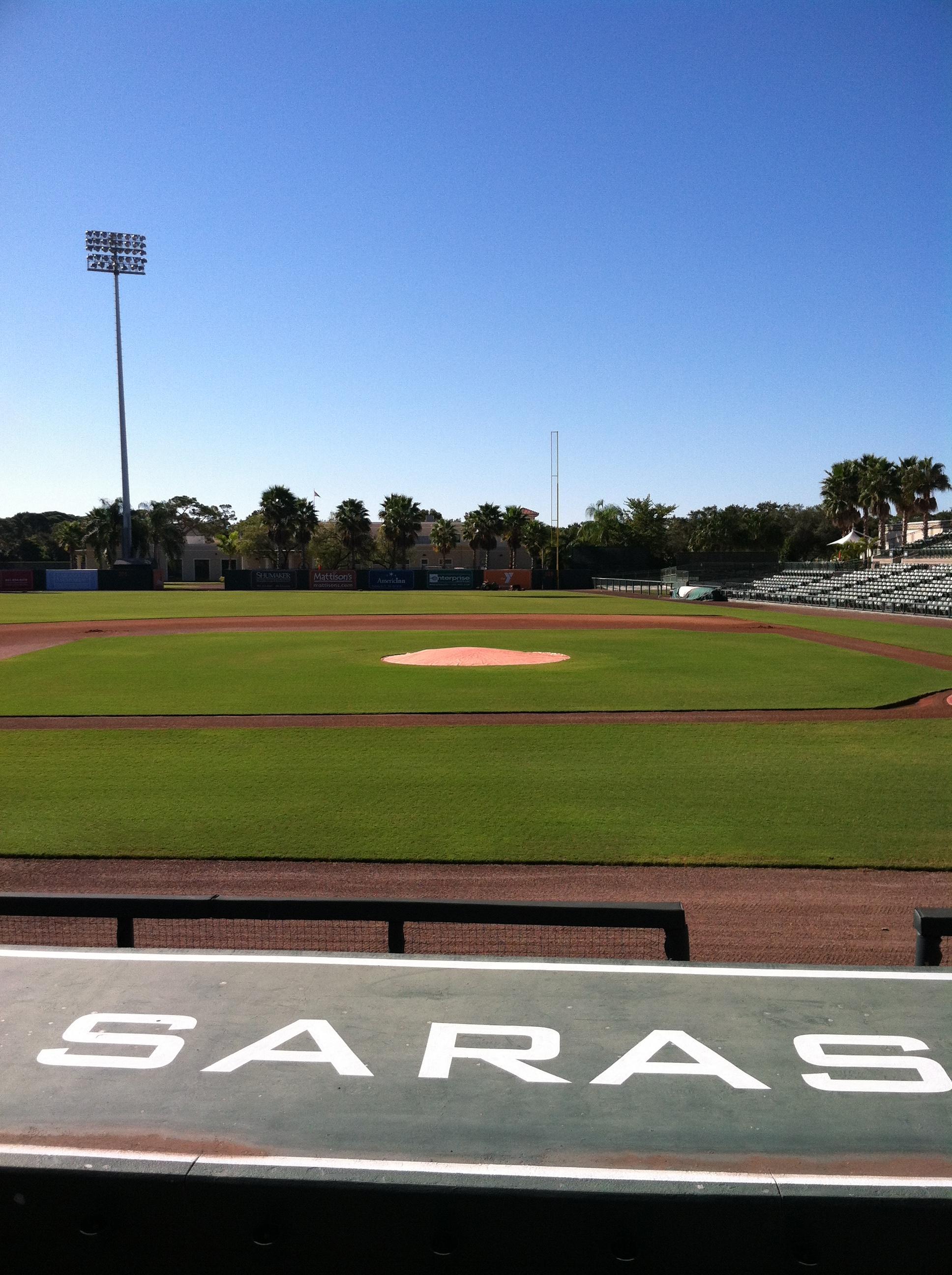 Ed Smith Stadium Section 117 Row 9 Seat 5
