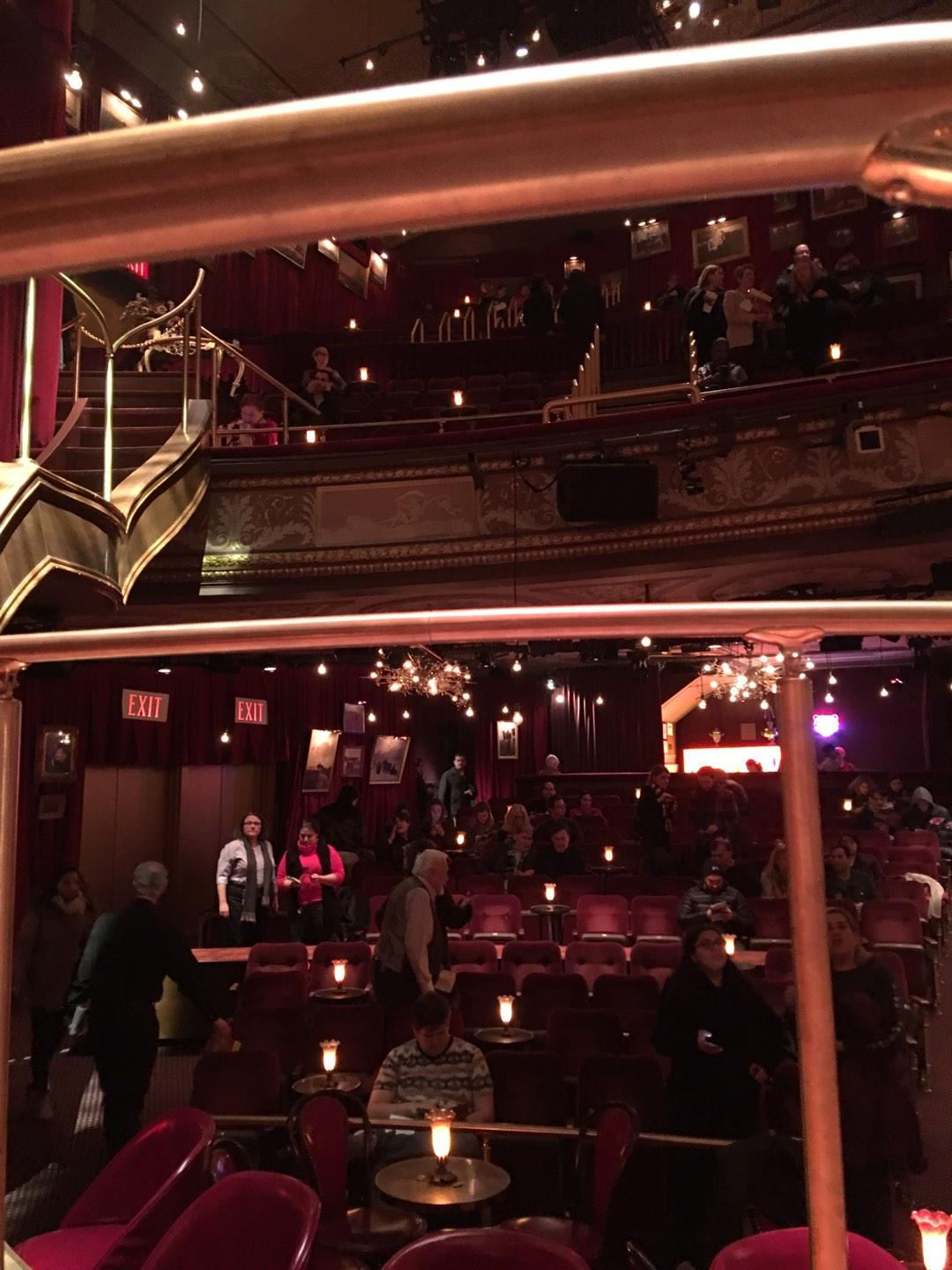 Imperial Theatre Section Stage Row SA Seat 1