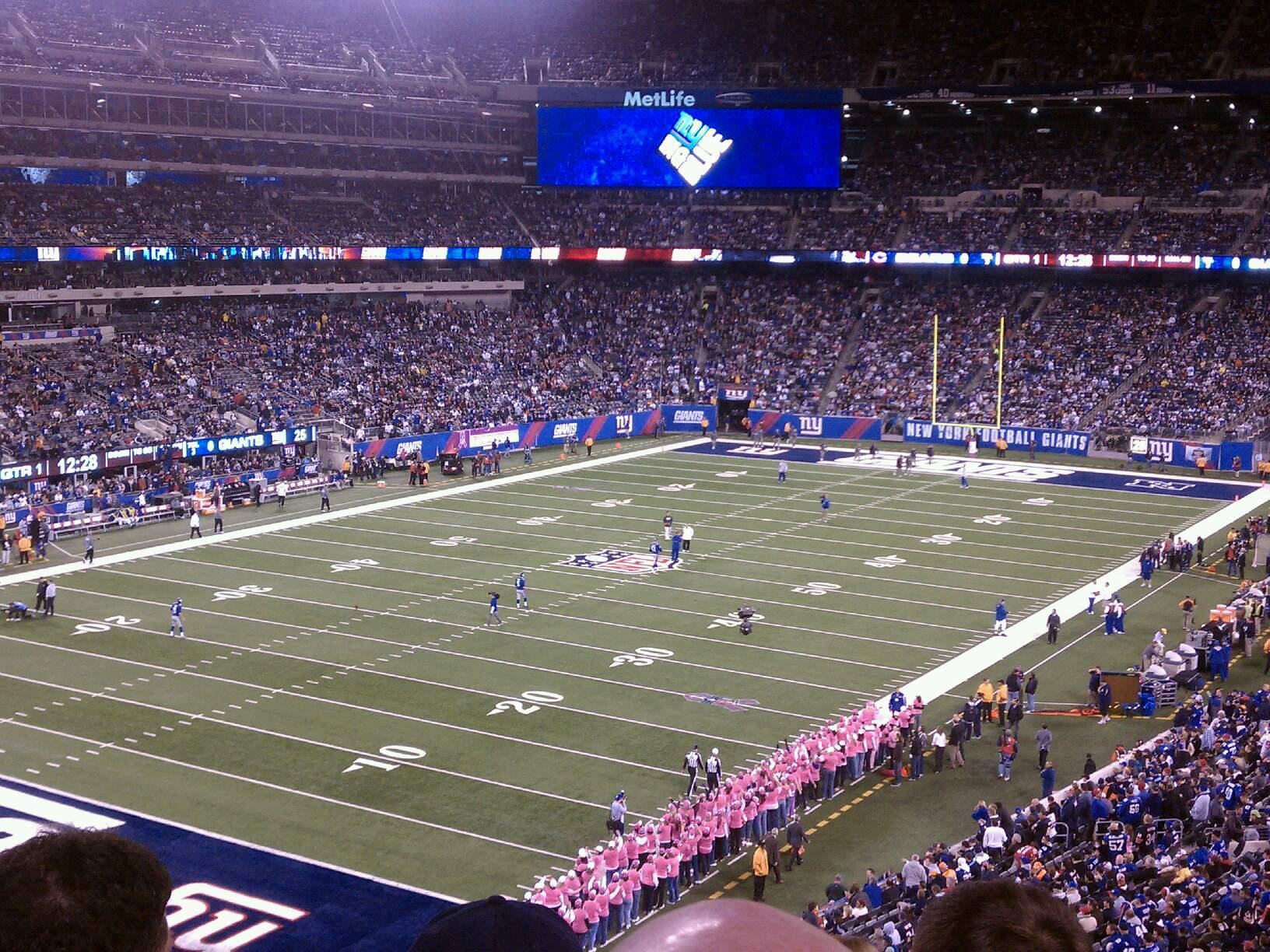 MetLife Stadium Section 246A Row 6 Seat 11