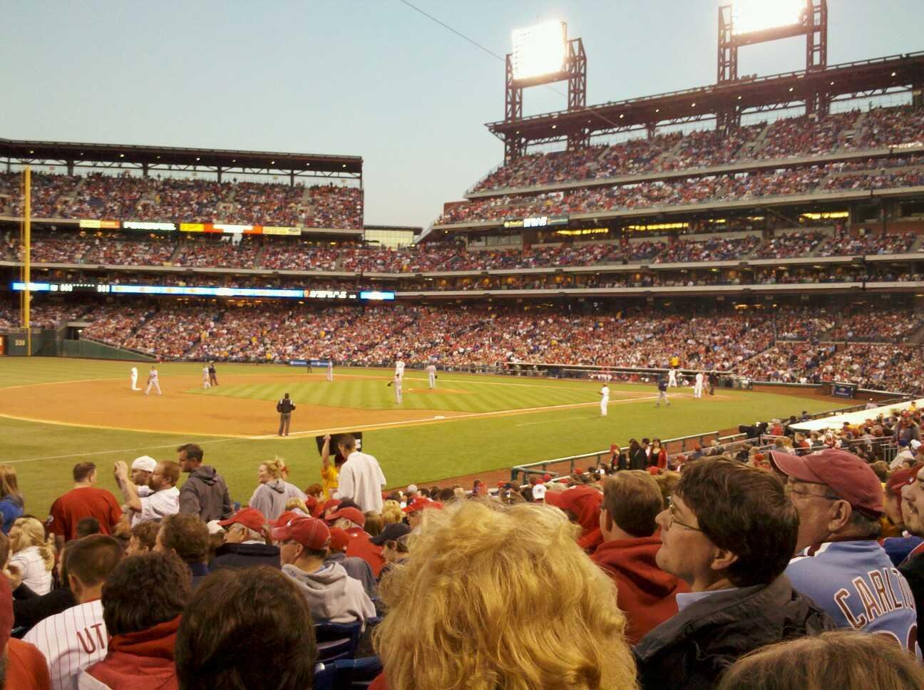 Citizens Bank Park Section 135 Row 21 Seat 8