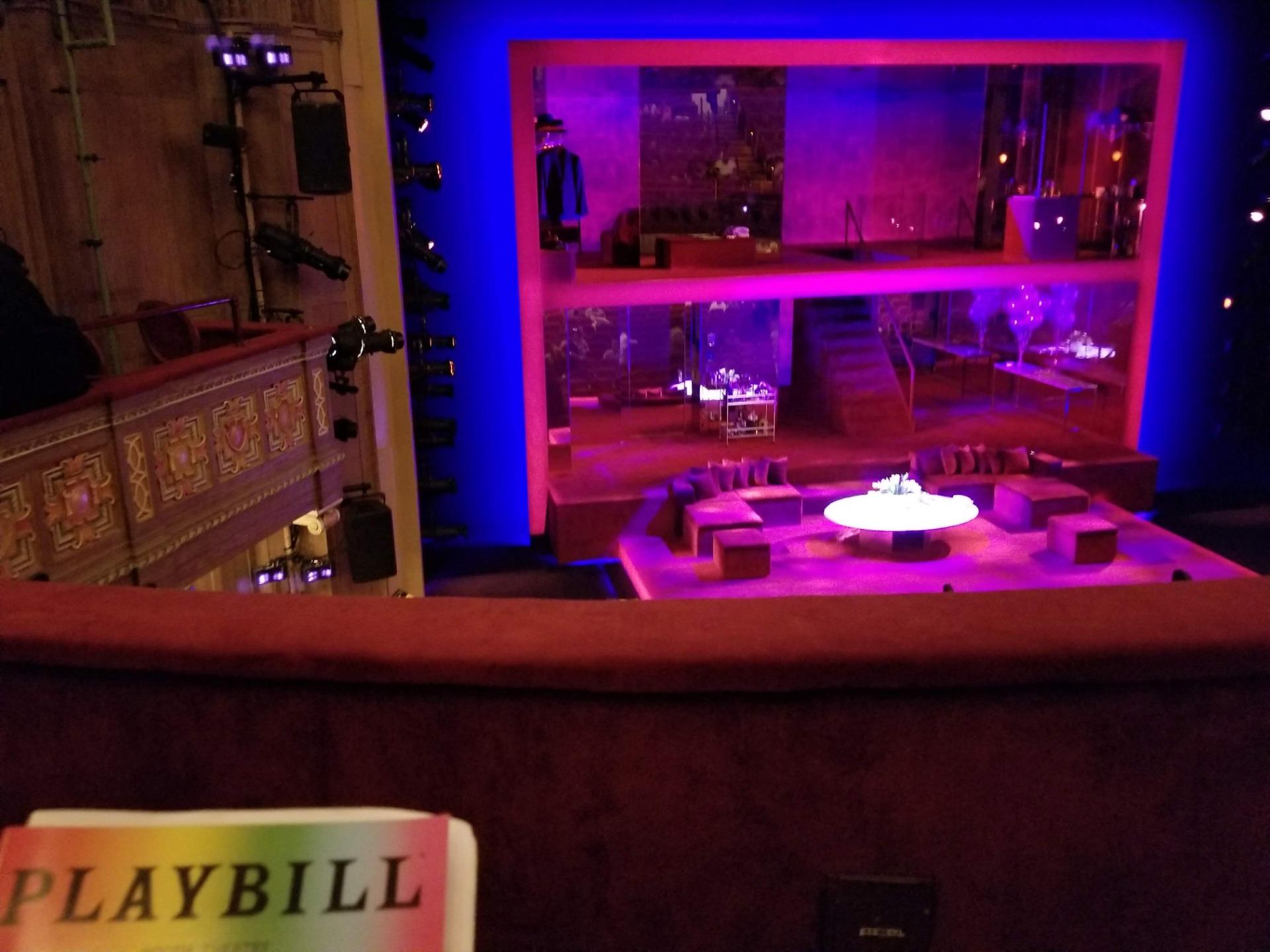 Booth Theatre Section Mezzanine L Row B Seat 3