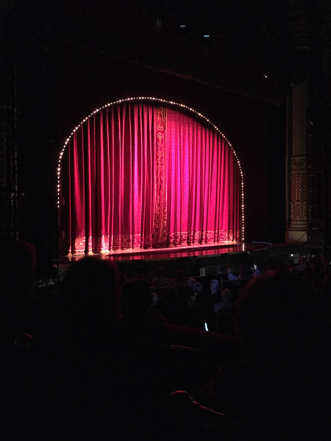 Academy of Music Section Parquet Circle I Row T Seat 51