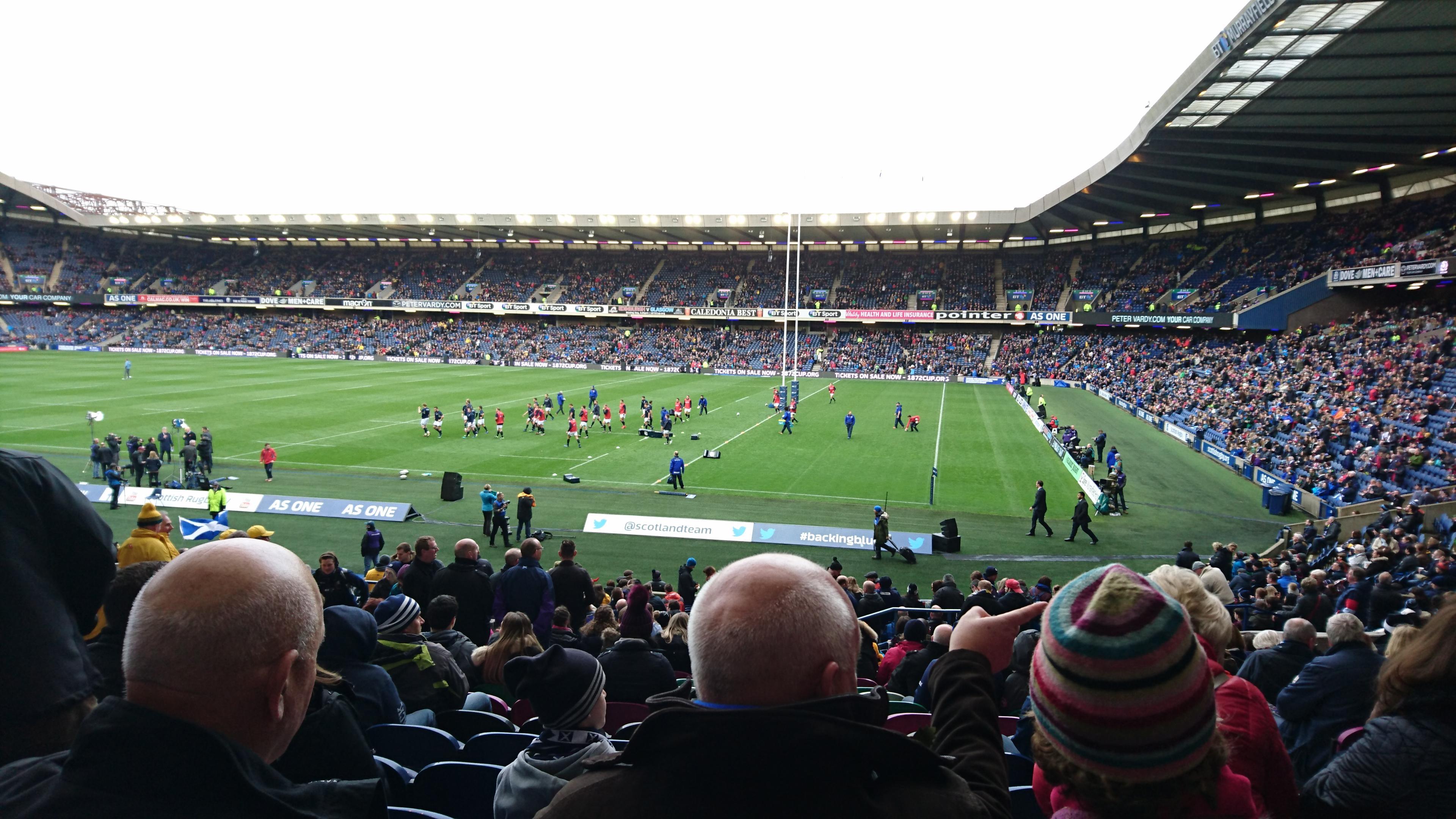Murrayfield Stadium Section West 5