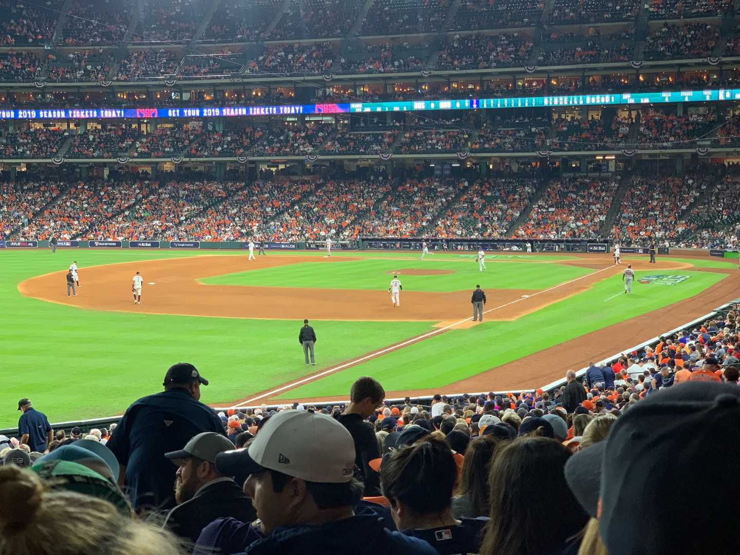 Minute Maid Park Section 106 Row 38 Seat 5