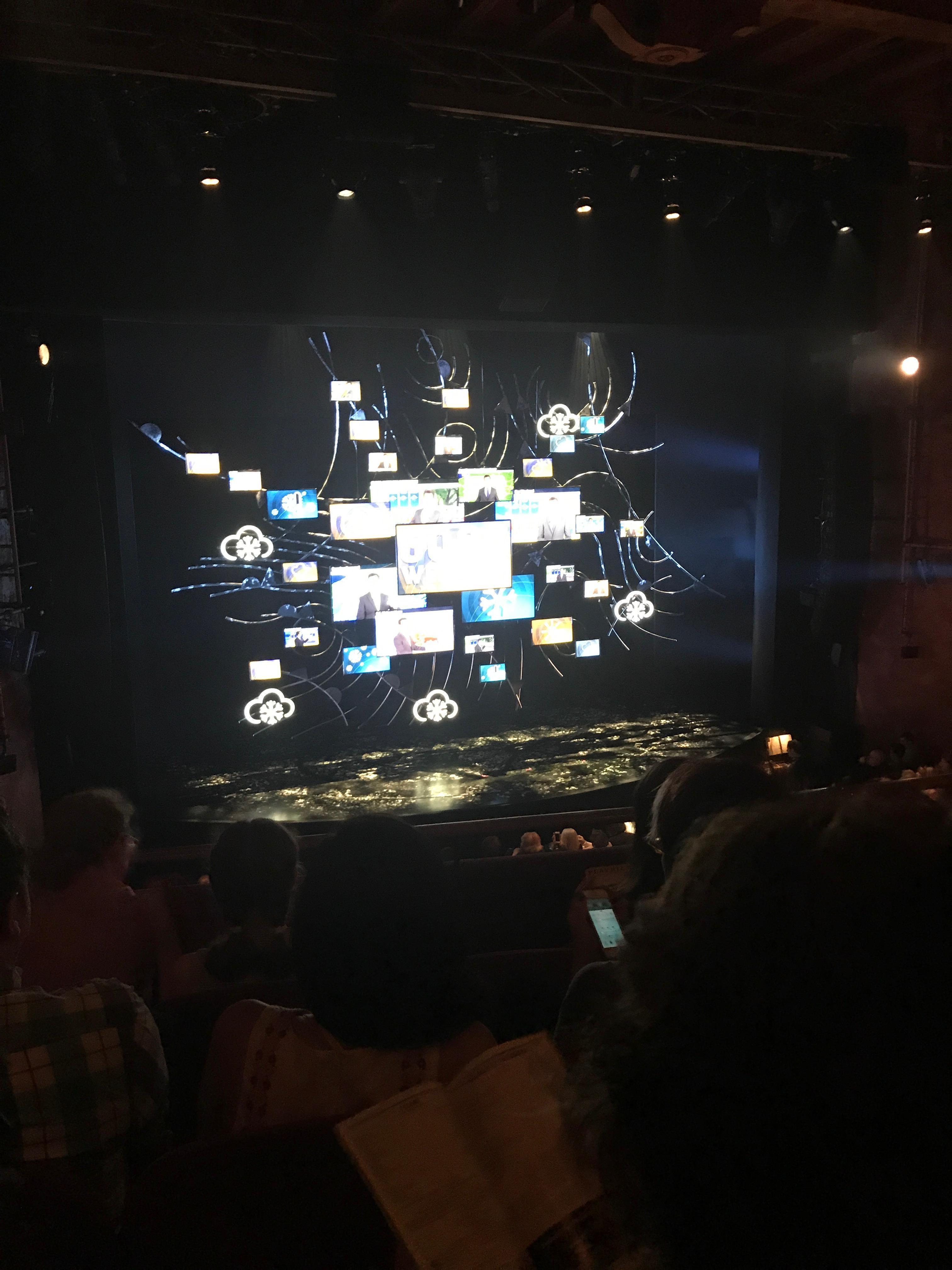 August Wilson Theatre Section Mezzanine L Row D Seat 5