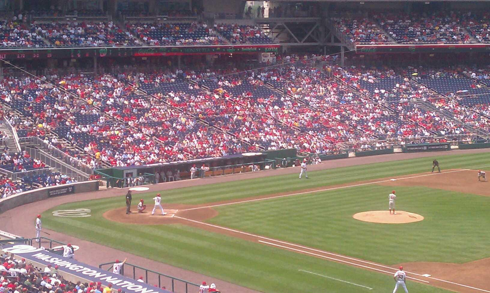 Nationals Park Section 223 Row L Seat 1