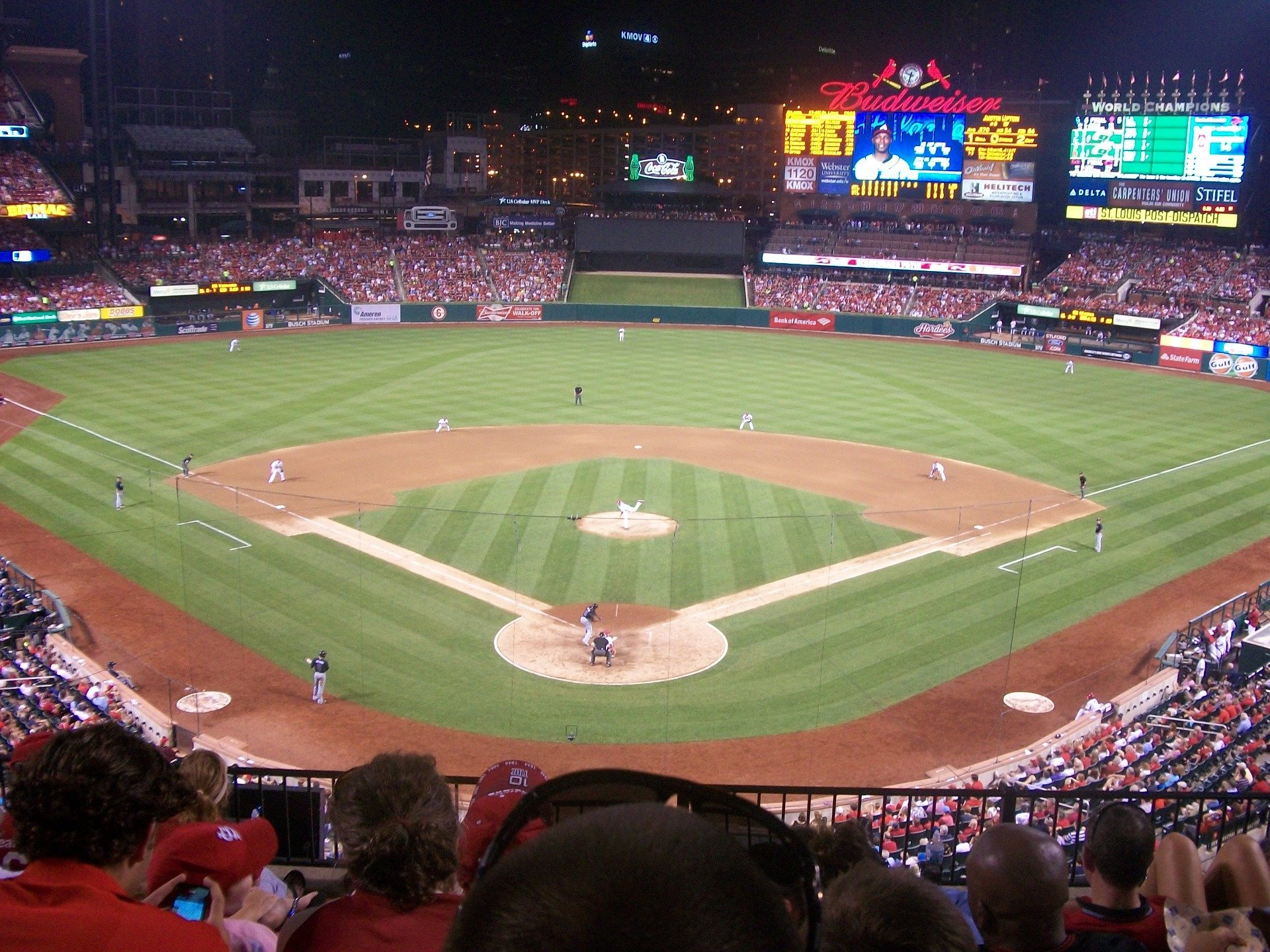 Busch Stadium Section 250 Row 6 Seat 8