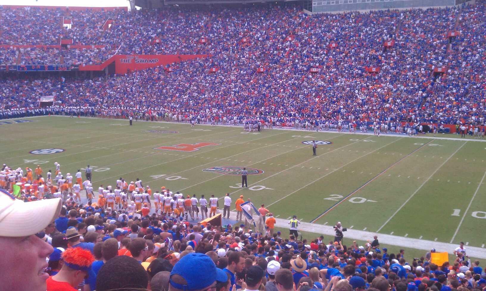 Ben Hill Griffin Stadium Section 31 Row 37 Seat 24