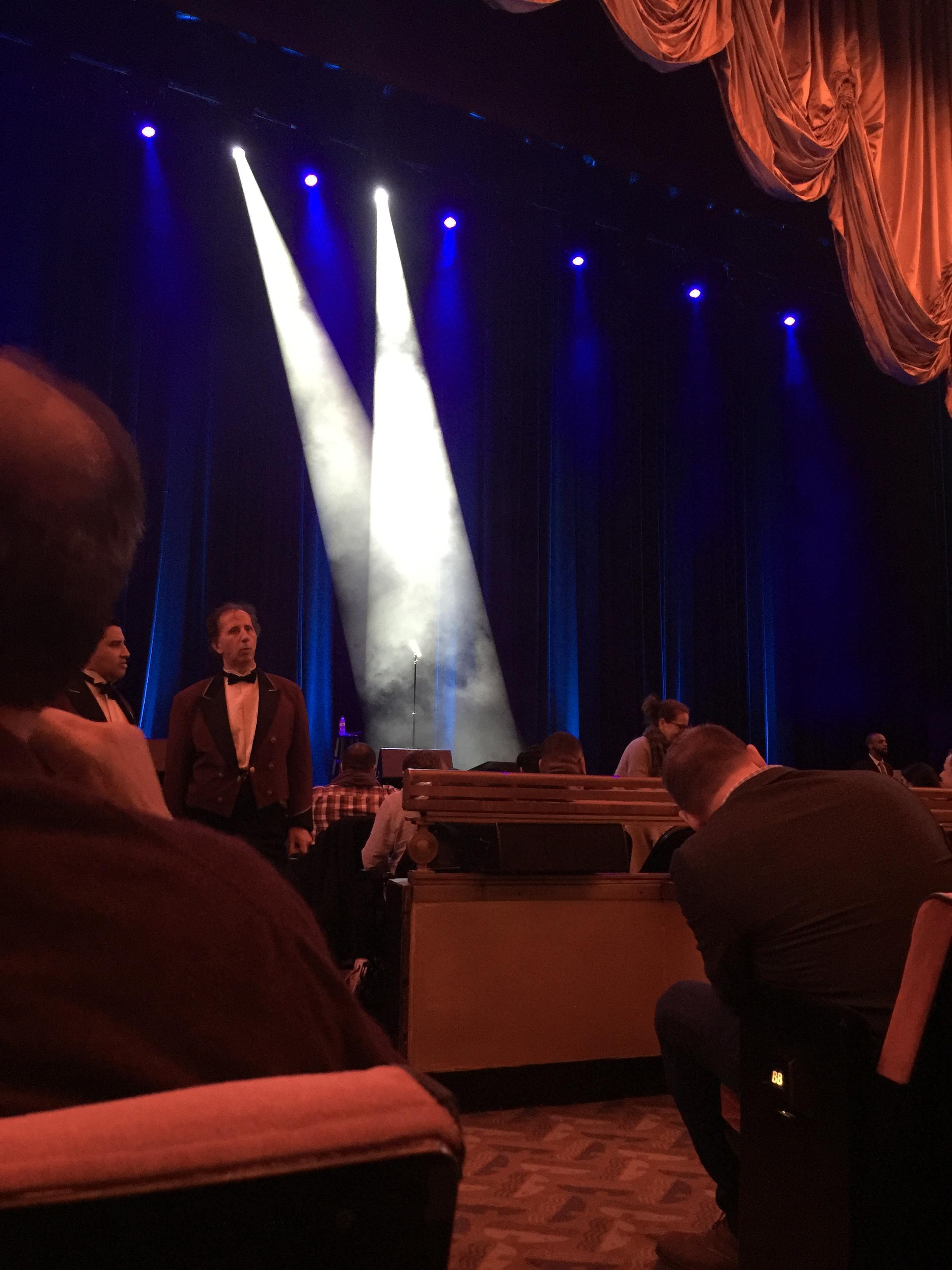 Radio City Music Hall Section Orchestra 5 Row Dd Seat 501