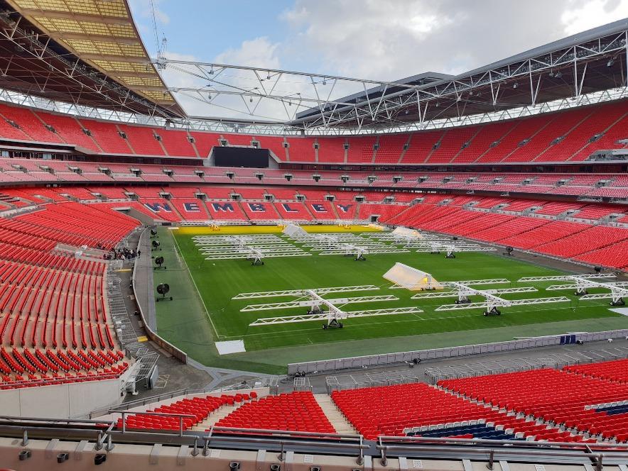 Wembley Stadium Section 215 Row 12