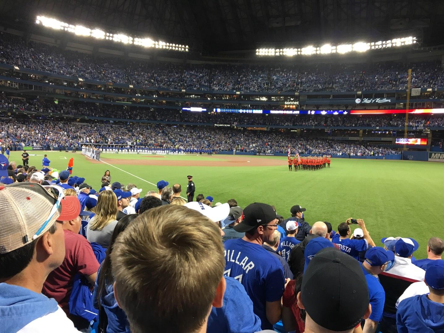 Rogers Centre Section 113DL Row 10 Seat 1