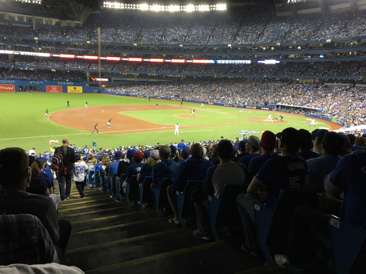 Rogers Centre Section 129L Row 40 Seat 1