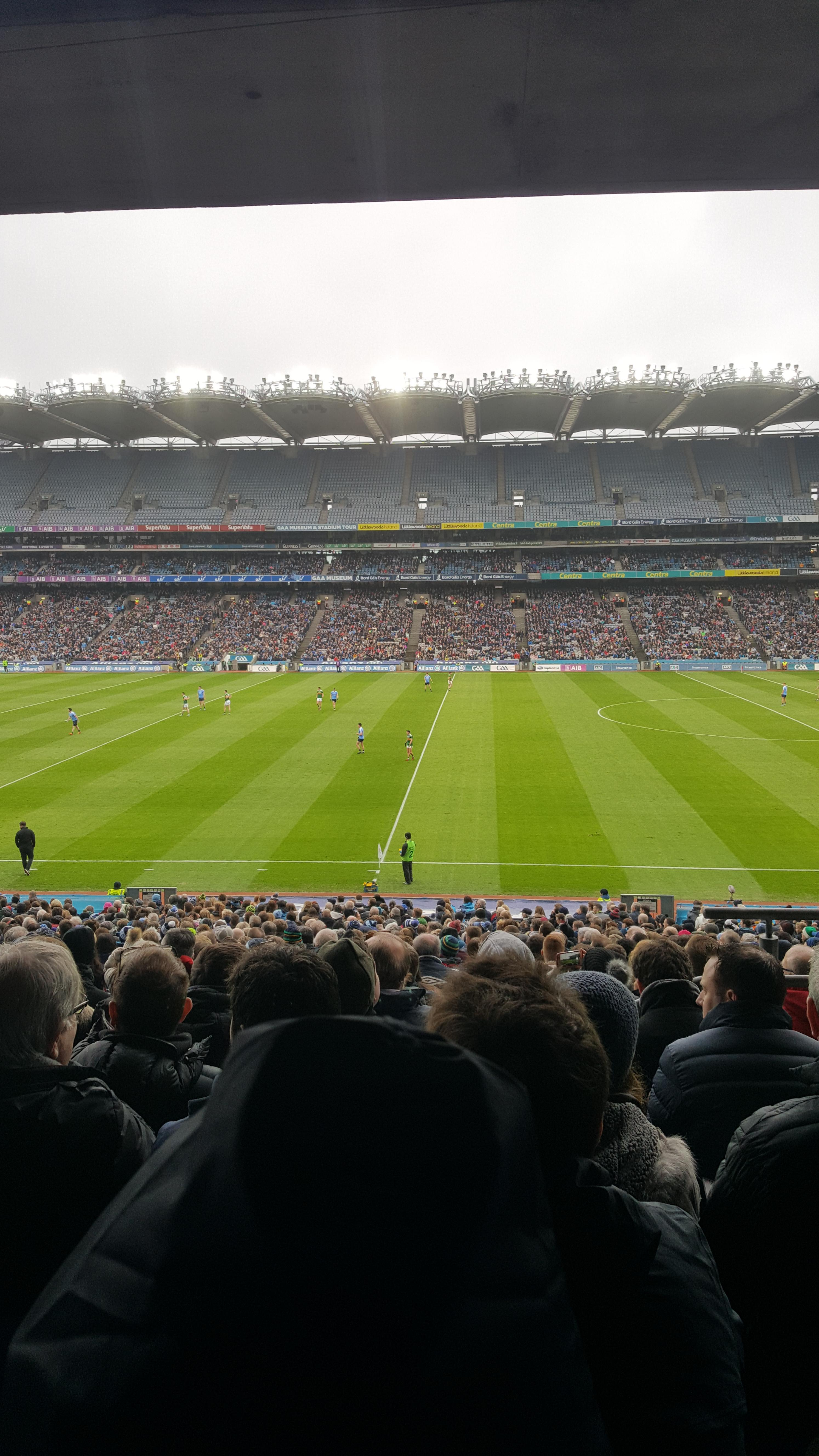 Croke Park Section 329 Row RR Seat 29