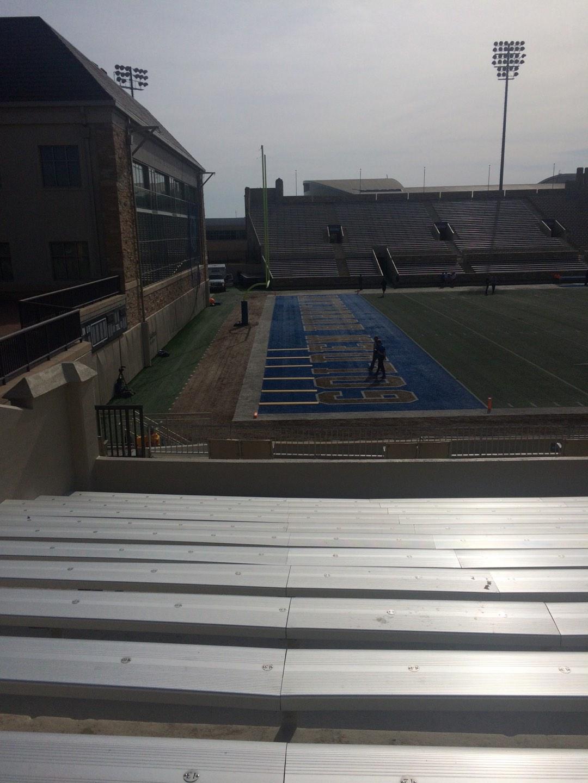 H. A. Chapman Stadium Section 121 Row 5 Seat 10