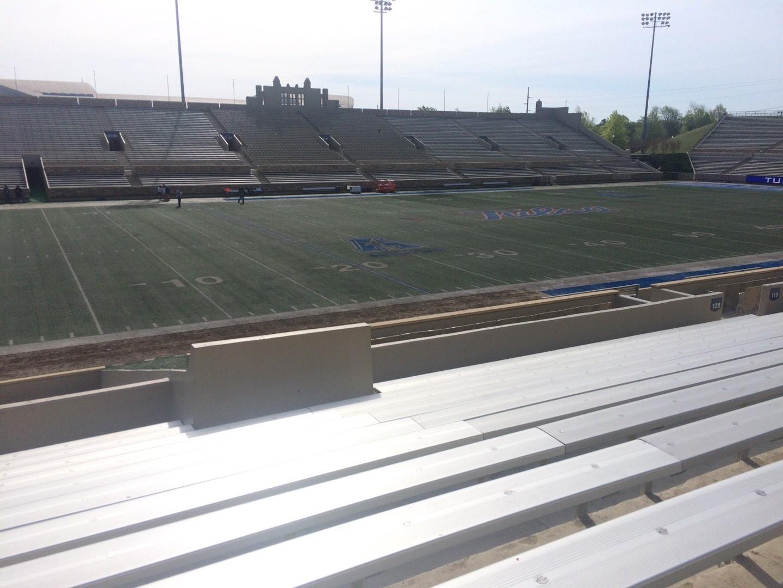 H. A. Chapman Stadium Section 120 Row 10 Seat 22