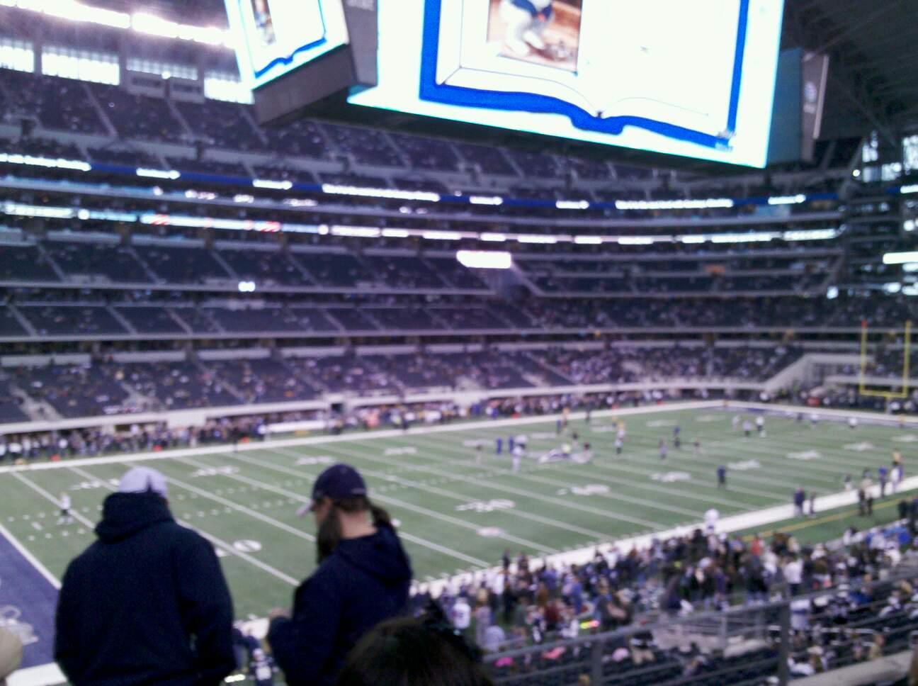 AT&T Stadium Section C238 Row 13 Seat 1