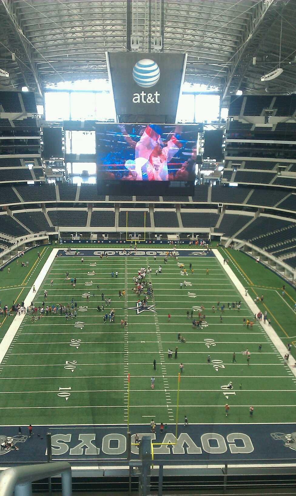 AT&T Stadium Section 458 Row 1 Seat 1