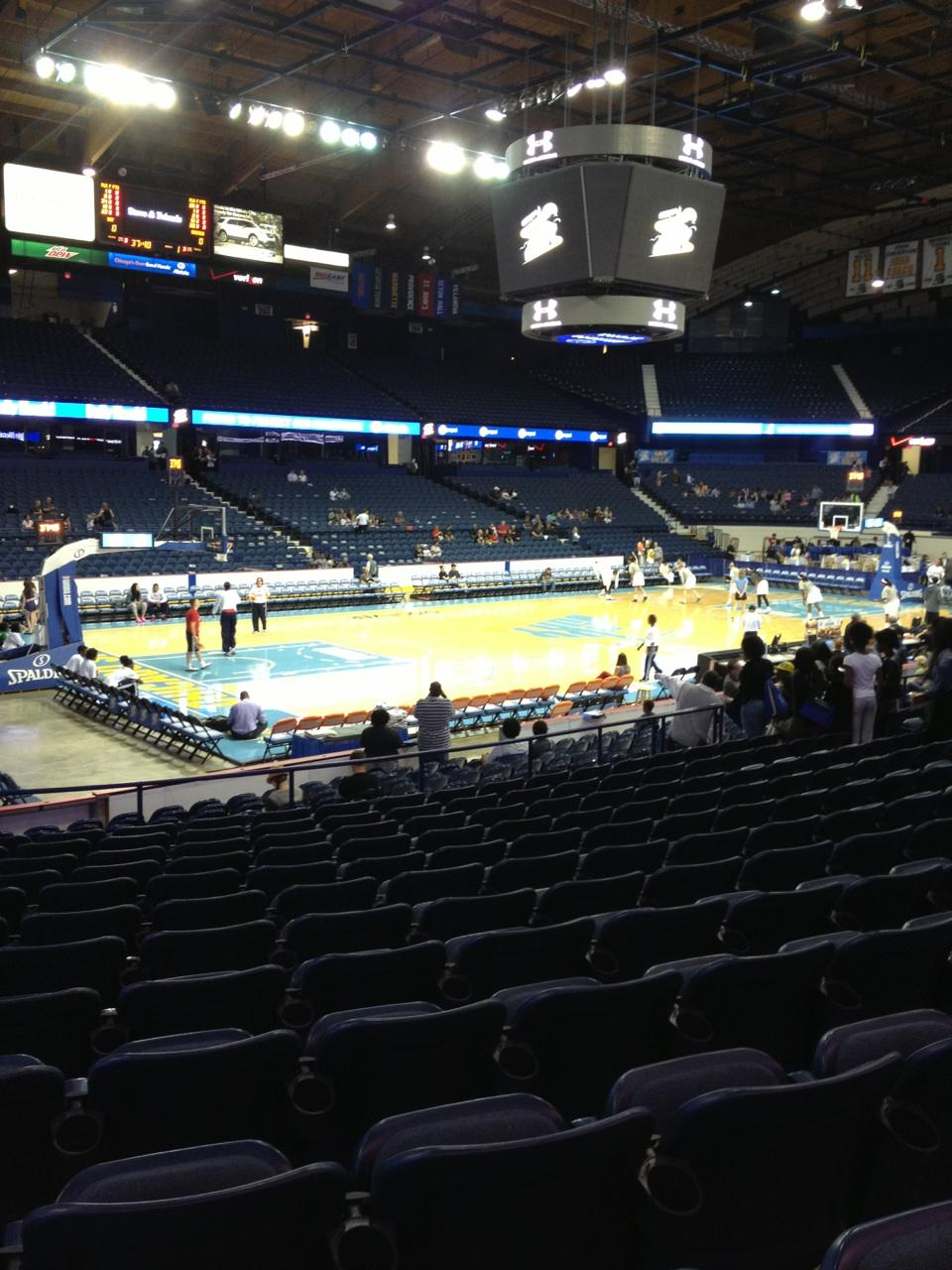 Seat View for Allstate Arena Section 113, Row N, Seat 23