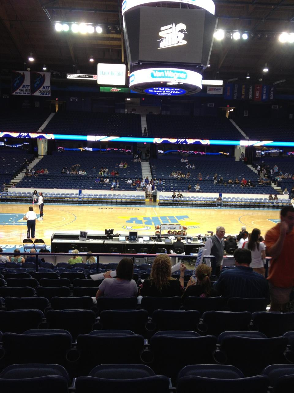Seat View for Allstate Arena Section 111, Row K, Seat 4