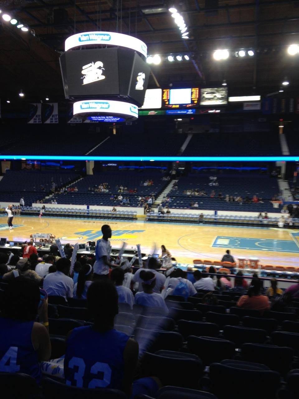 Seat View for Allstate Arena Section 110, Row M, Seat 8