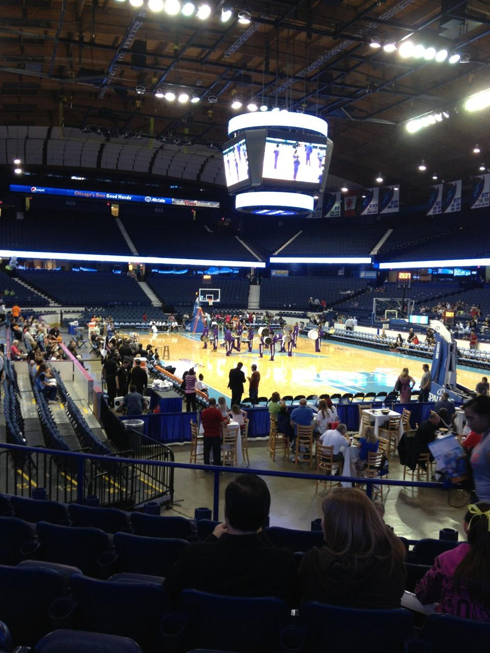 Seat View for Allstate Arena Section 108, Row K, Seat 4