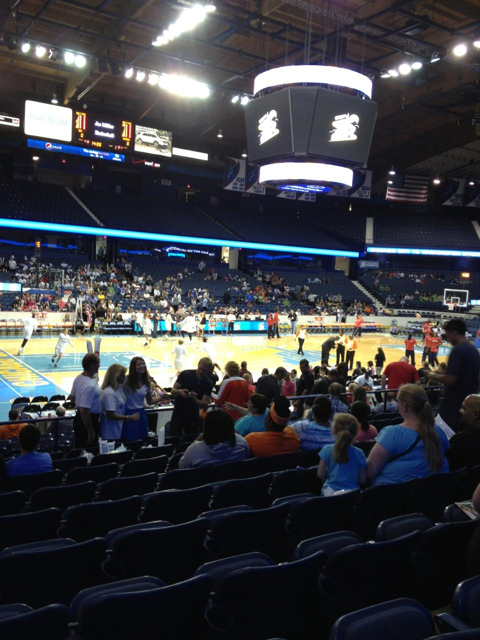 Seat View for Allstate Arena Section 104, Row K, Seat 10