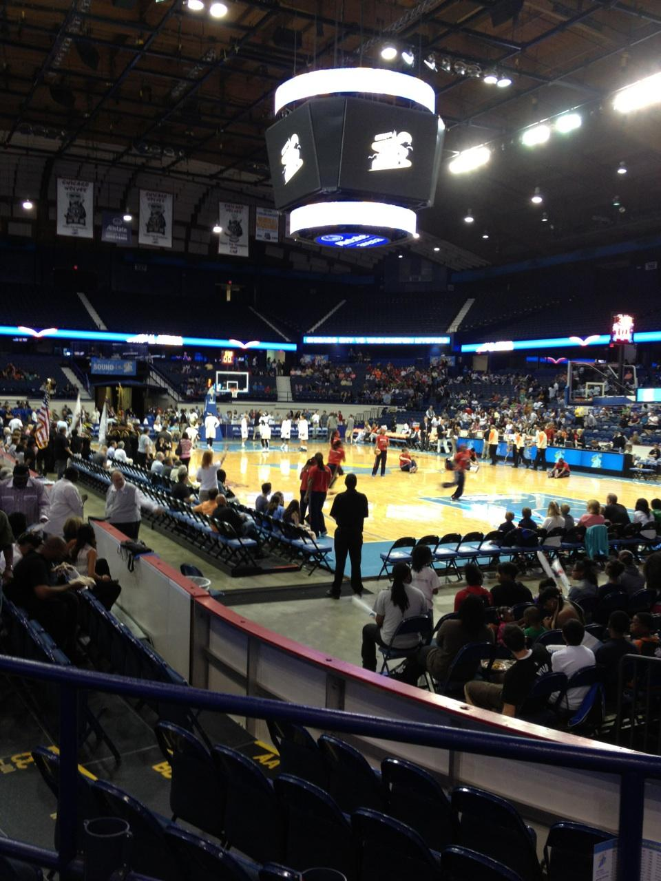 Seat View for Allstate Arena Section 116, Row C, Seat 10