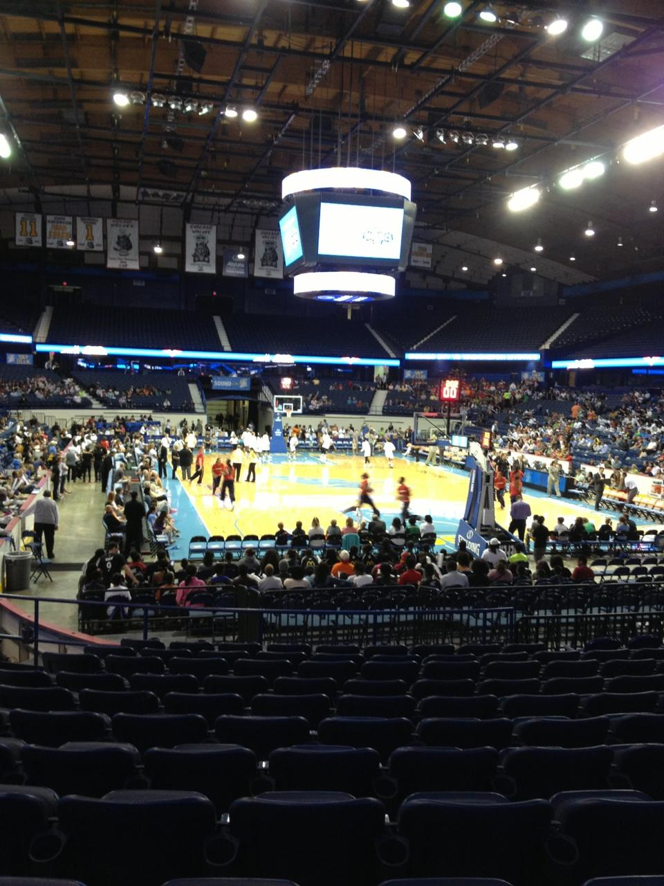 Seat View for Allstate Arena Section 115, Row M, Seat 21