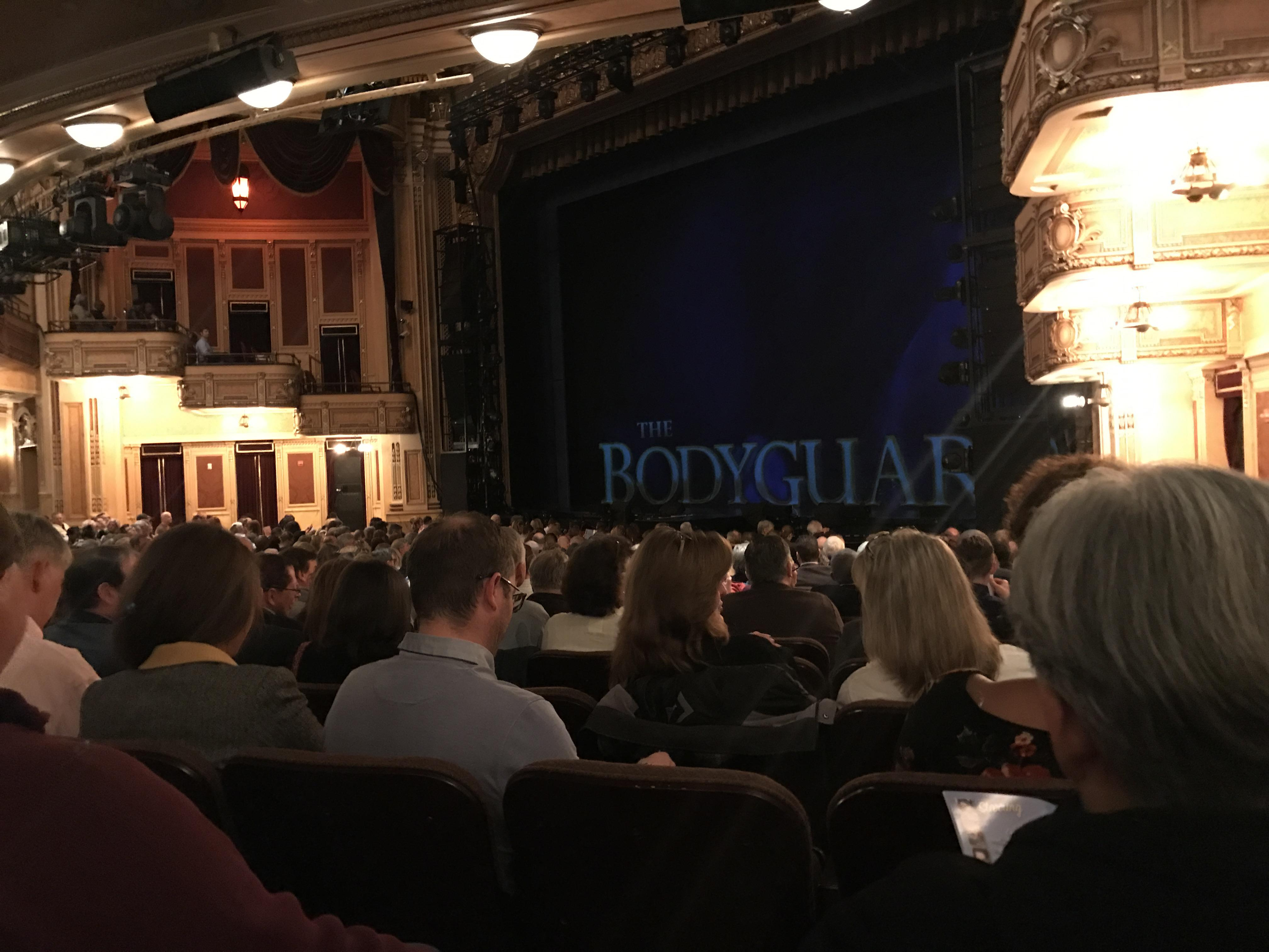 Hippodrome Theatre Section Right Orchestra Row R Seat 20