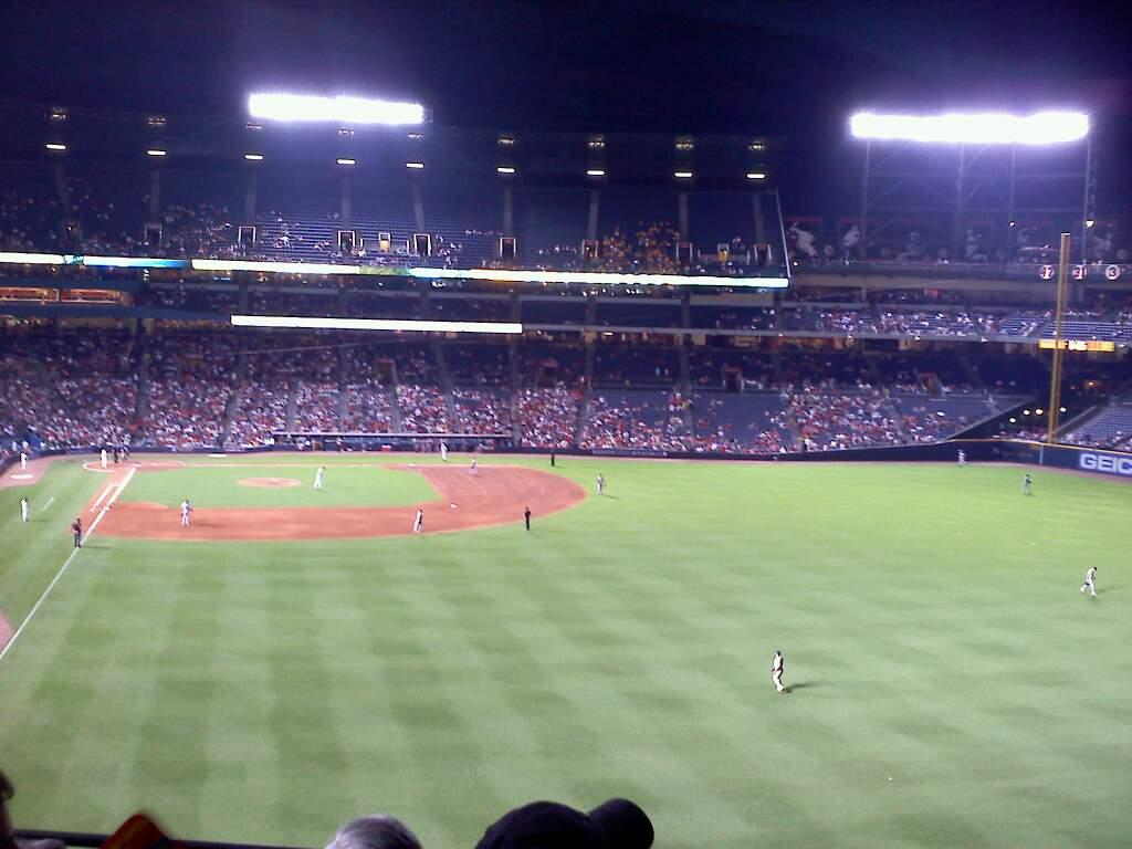 Turner Field Section 333 Row 4 Seat 11