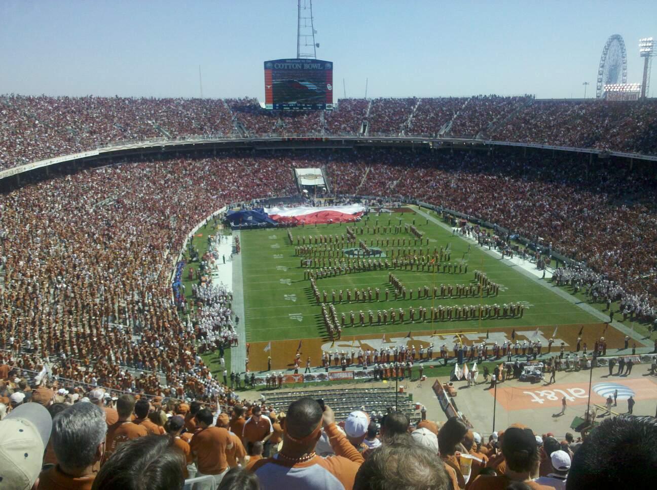 Cotton Bowl Section 118