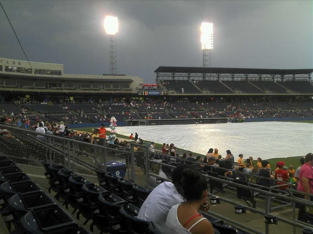 Harbor Park Section 216 Row R Seat 12