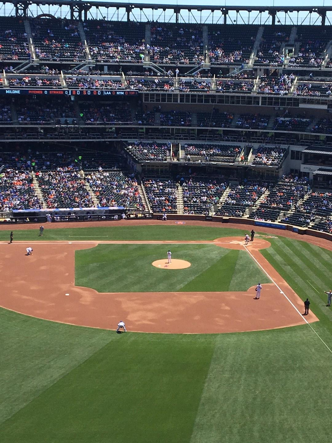 Citi Field Section 536 Row 7 Seat 1