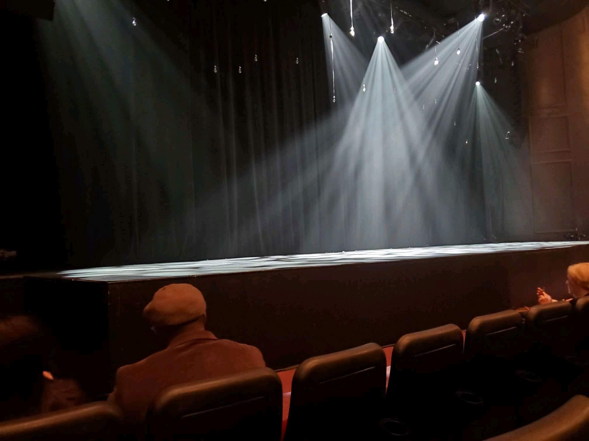 Raleigh Memorial Auditorium Section B Row C Seat 10