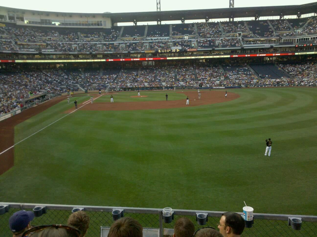 PNC Park Section 143 Row 4 Seat 1